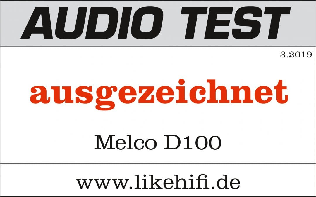 """""""Ausgezeichnet"""": Audio Test über das CD-Laufwerk D100 von Melco"""