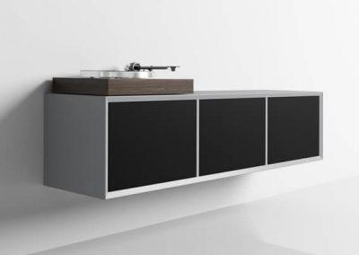 Schallplatten-Schrank