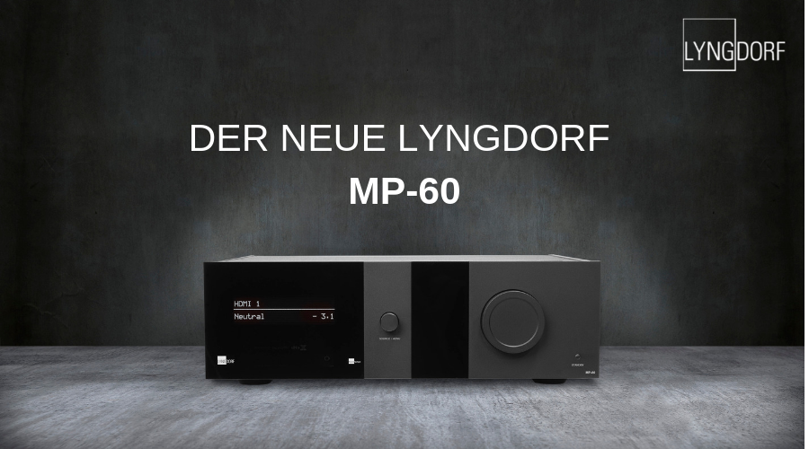 NEUER LYNGDORF SURROUND-SOUND-PROZESSOR MP- 60