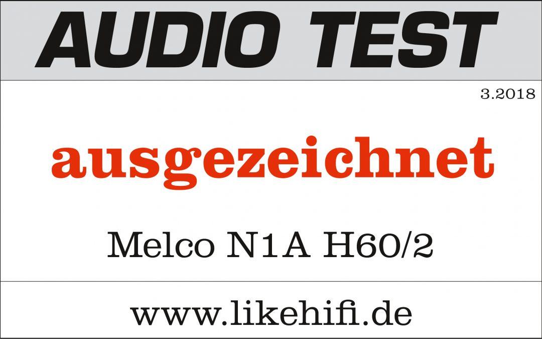 """Melco N1A H60/2 im Test ausgezeichnet: """"Der Humidor für Musik"""""""