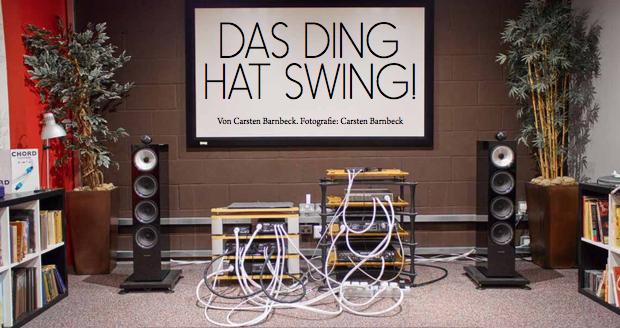 """Das Ding hat Swing"""