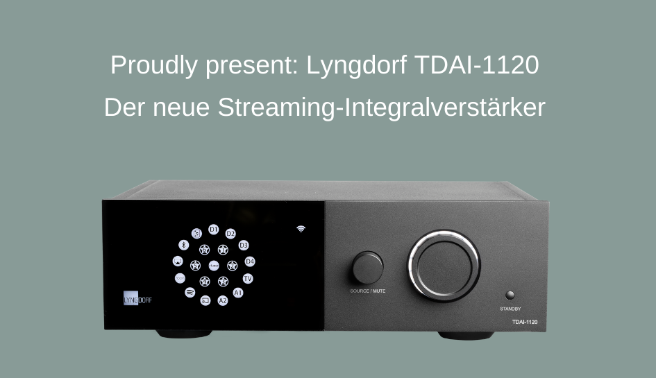 Proudly present: Lyngdorf TDAI-1120