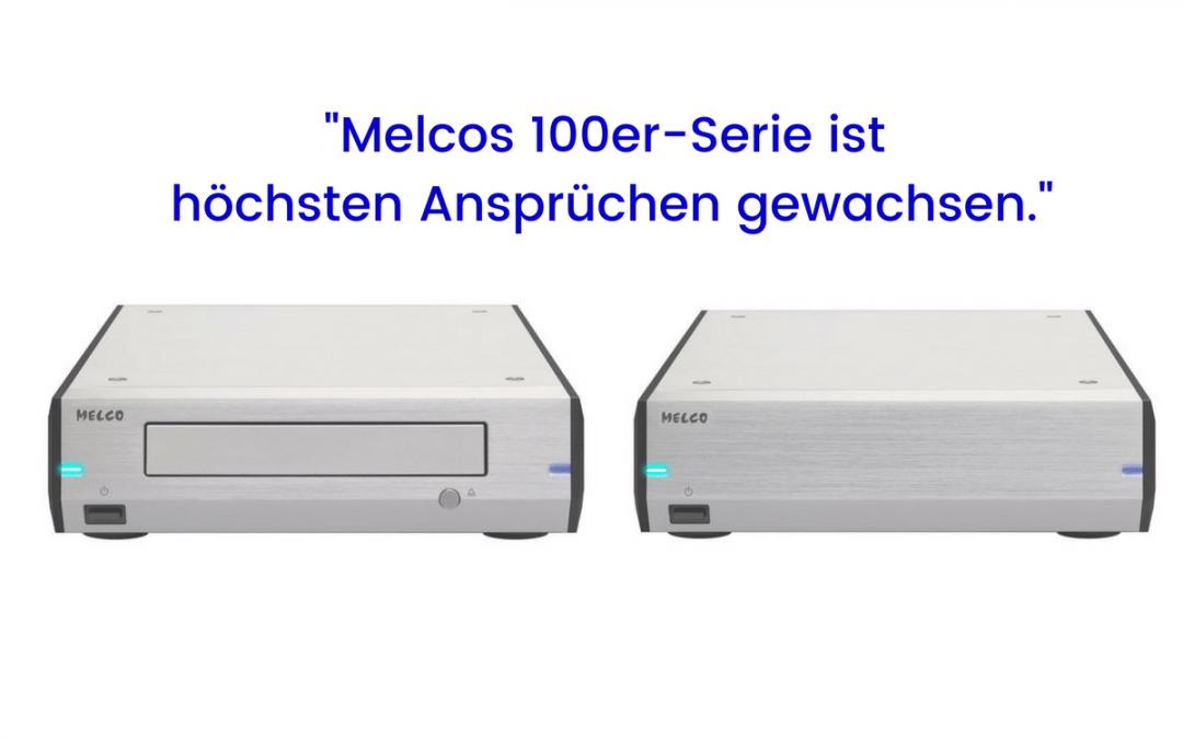 """Melco D100 und E100 im Test bei HIFI einsnull: """"Ära der Aufrüstung"""""""